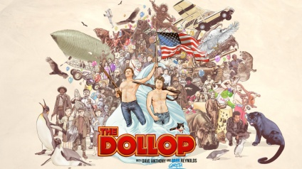 the dollop podcast that'll make you laugh