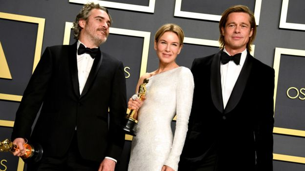 Joaquin Phoenix, Renée Zellweger & Parasite The Big Winners At The 2020 Oscars